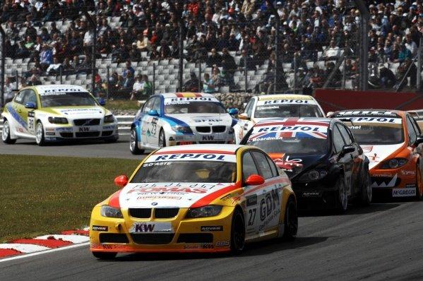Stefano D'Aste (ESP), BMW 320si. FIA World Touring Car Championship, Rd8, Brands Hatch, England, 19 July 2009.