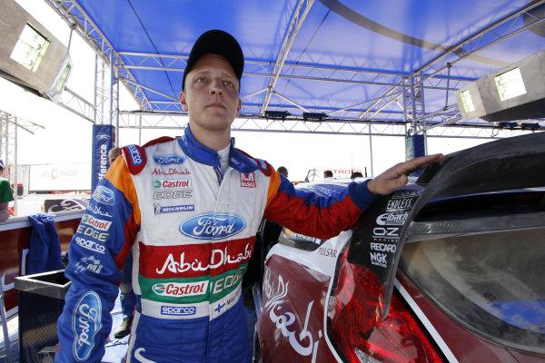 Round 04 Rally Jordan. 14th-16th April 2011.Mikko Hirvonen, Ford WRC, Portrait.Worldwide Copyright: McKlein/LAT