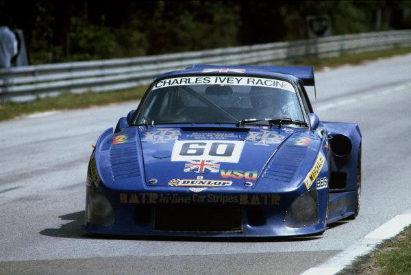 Le Mans, France. 19-20 June 1982.John Cooper/Paul Smith/Claude Bourgoignie (Porsche 935 K3), 8th position, action. World Copyright: LAT Photographic.Ref:  82LM09