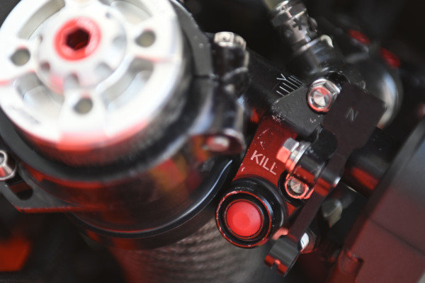 Detail KTM RC16.