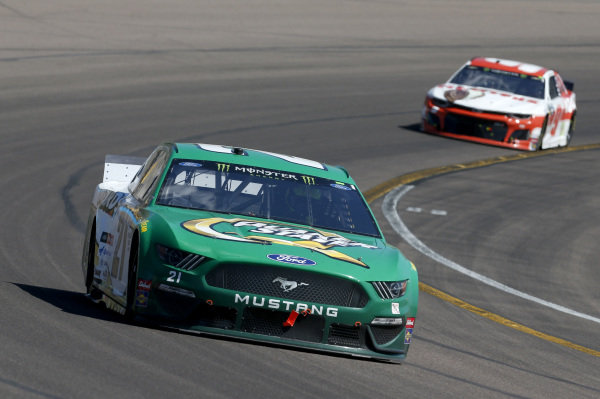 #21: Paul Menard, Wood Brothers Racing, Ford Mustang Menards / Quaker State