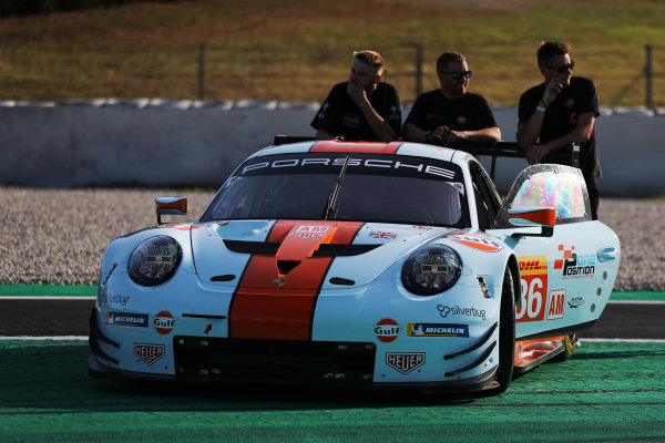 #86 Gulf Racing Porsche 911 RSR: Michael Wainwright, Benjamin Barker