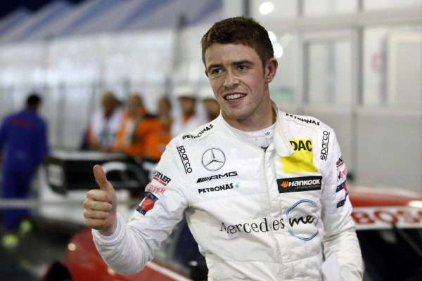 Pole sitter Paul Di Resta, Mercedes-AMG Team HWA.
