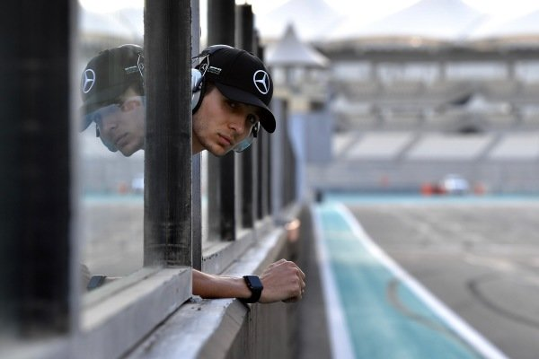 Esteban Ocon, Mercedes-AMG F1 Test and Reserve Driver