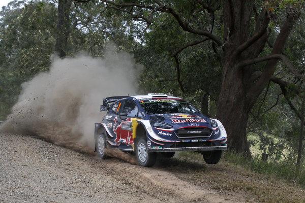Elfyn Evans, M-Sport Ford, Ford Fiesta WRC 2018,