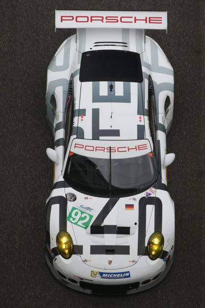 2015 FIA World Endurance Championship, Shanghai, China, 30th October - 1st November 2015, Patrick Pilet / Frederic Makowiecki Porsche Team Manthey Porsche 911 RSR  World copyright. Jakob Ebrey/LAT Photographic