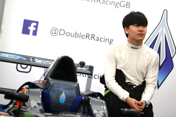 2017 F4 British Championship, Brands Hatch, 1st-2nd April 2017 Daniel Cao (CHN) Double R Racing British F4  World Copyright. JEP/LAT Images