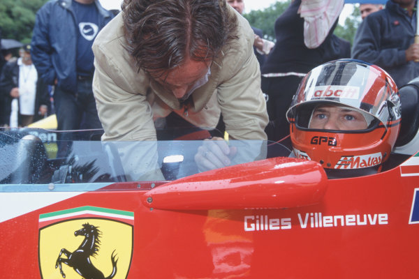 2004 Festival of Speed, Goodwood, England.25th-27th June 2004.Jacques Villeneuve drives the 1978 Ferrari 312T3 of his father, Gilles Villeneuve.World Copyright LAT Photographic.ref: 35mm image