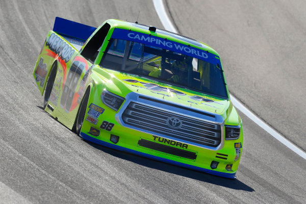 NASCAR Camping World Truck Series Las Vegas 350 Las Vegas Motor Speedway, Las Vegas, NV USA Saturday 30 September 2017 Matt Crafton, Rip It/ Menards Toyota Tundra World Copyright: Russell LaBounty LAT Images