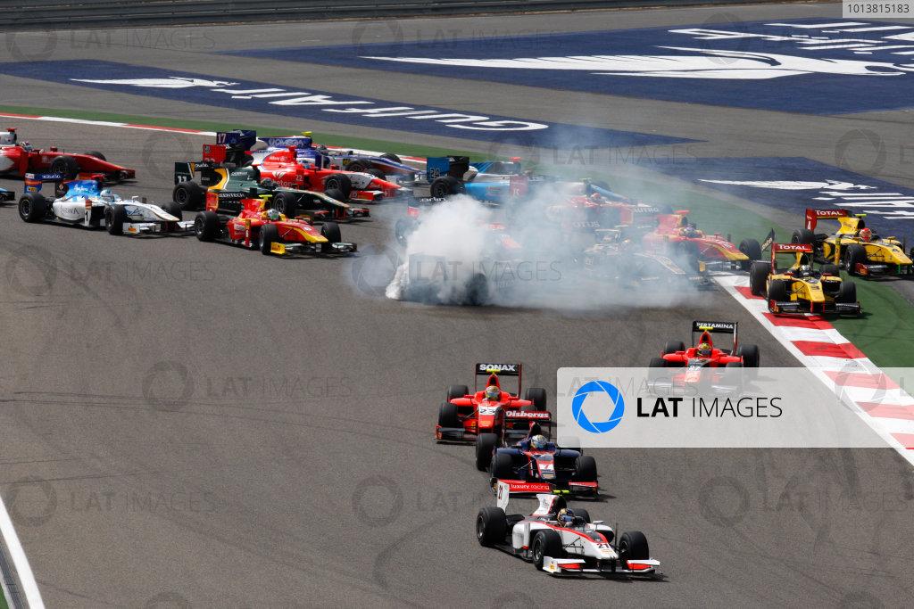 2012 GP2 Series.  Round 3.