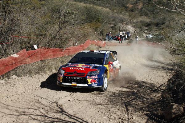 2010 FIA World Rally ChampionshipRound 02Rally Mexico 4-7 Mars 2010Dani Sordo, Citroen WRC, ActionWorldwide Copyright: McKlein/LAT