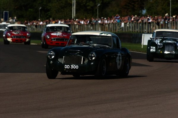 2005 Goodwood Revival Meeting Goodwood, West Sussex. 16th - 18th September 2005 FordWater Trophy. Chris Clarkson (Austin Healey 3000Mk1), 1st position. World Copyright: Jeff Bloxham/LAT Photographic Digital Image Only
