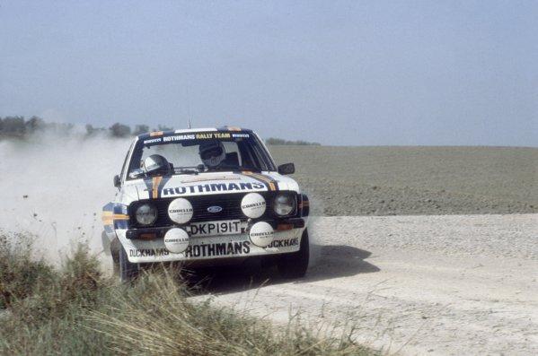 1981 World Rally Championship.Sanremo Rally, Italy. 5-10 October 1981.Ari Vatanen/David Richards (Ford Escort RS1800), 7th position.World Copyright: LAT PhotographicRef: 35mm transparency 81RALLY25