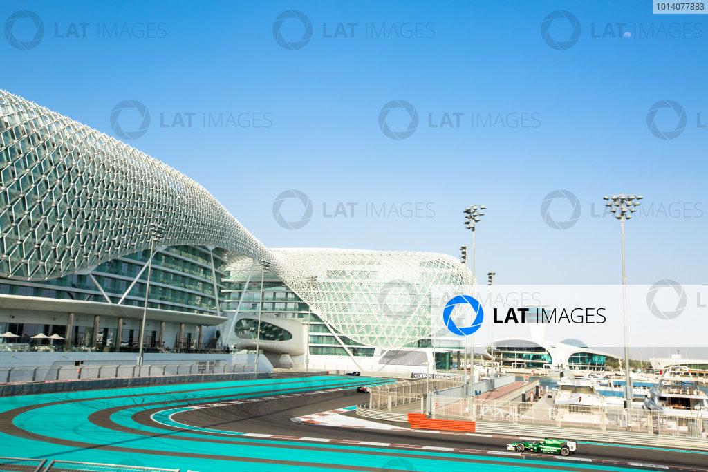 Test 1 - Yas Marina, Abu Dhabi