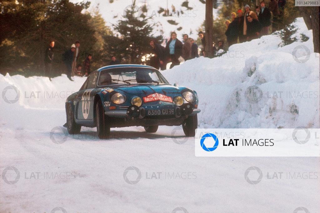1971 Monte Carlo Rally.