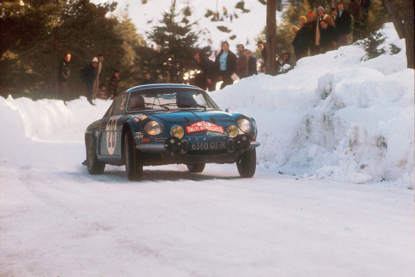 1971 Monte Carlo Rally. 