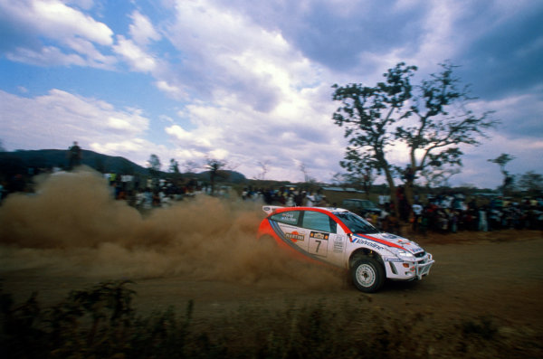 Round 3, Safari Rally, Nairobi, Kenya.