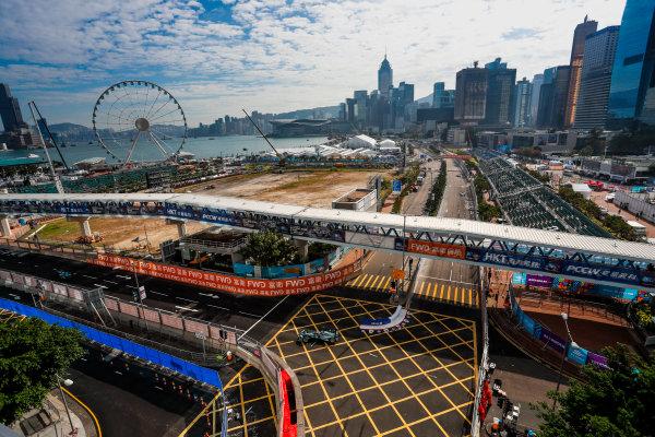2017/2018 FIA Formula E Championship. Round 1 - Hong Kong, China. Saturday 02 December 2017. Mitch Evans (NZL), Panasonic Jaguar Racing, Jaguar I-Type II. Photo: Alastair Staley/LAT/Formula E ref: Digital Image _ALS5606