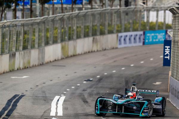 2017/2018 FIA Formula E Championship. Round 1 - Hong Kong, China. Saturday 02 December 2017.Mitch Evans (NZL), Panasonic Jaguar Racing, Jaguar I-Type II. Photo: Sam Bloxham/LAT/Formula E ref: Digital Image _J6I4029