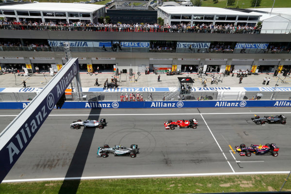 Red Bull Ring, Spielberg, Austria.