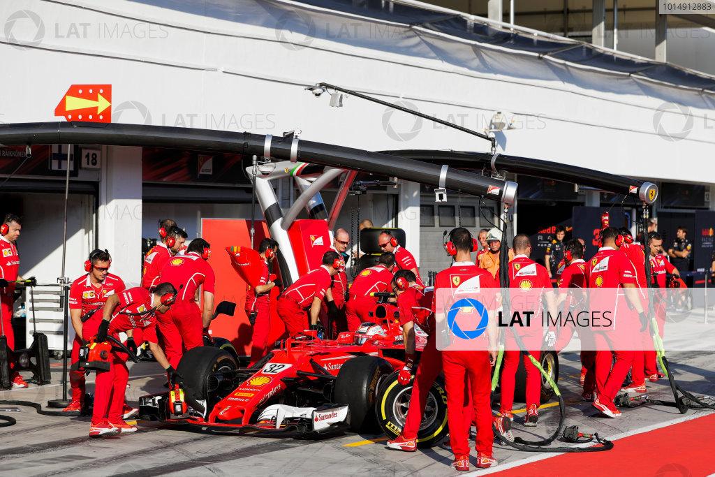 Hungaroring, Budapest, Hungary.  Tuesday 01 August 2017. Charles Leclerc, Ferrari SF70H. World Copyright: Zak Mauger/LAT Images  ref: Digital Image _56I8096