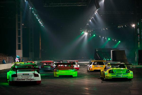 Autosport International Exhibition. National Exhibition Centre, Birmingham, UK. Sunday 11 January 2015 The Live Action Arena. World Copyright: Zak Mauger/LAT Photographic. ref: Digital Image _L0U5013