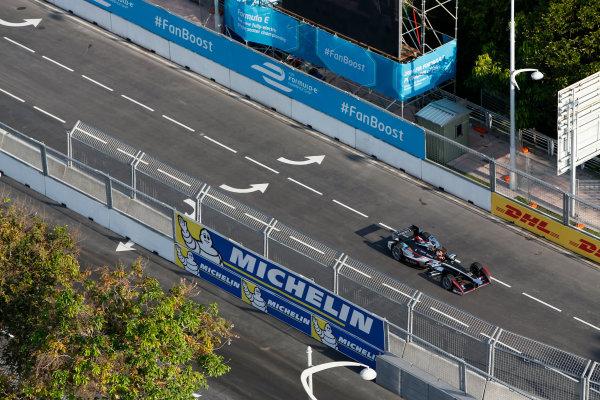 Saturday Practice. Putrajaya E-Prix, Malaysia - 20th-22nd November 2014. Saturday 22 November 2014. Oriol Servia (SPA)/Dragon Racing - Spark-Renault SRT_01E  Photo: Adam Warner/LAT/ Formula E ref: Digital Image _L5R3938