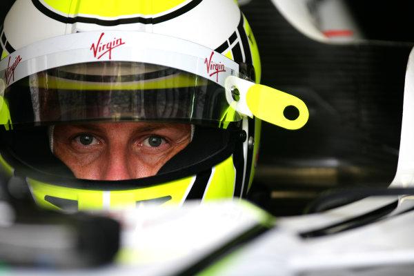 Sepang, Kuala Lumpur, Malaysia 3rd April 2009 Jenson Button, Brawn GP BGP001 Mercedes. Portrait. Helmets.  World Copyright: Glenn Dunbar/LAT Photographic ref: Digital Image YY8P0751
