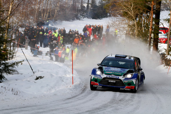 Round 02 - Rally Sweden 09-12 February 2012. Jari-Matti Latvala, Ford WRC, Action.  Worldwide Copyright: McKlein/LAT