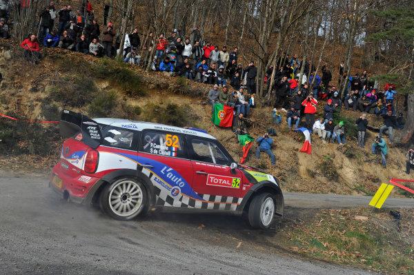 Round 01-Rally Monte Carlo 17-22 January 2012. Pierre Campana, Mini WRC, ActionWorldwide Copyright: McKlein/LAT