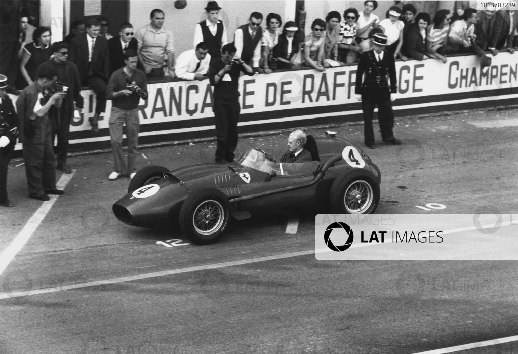 Reims, France. 6 July 1958.