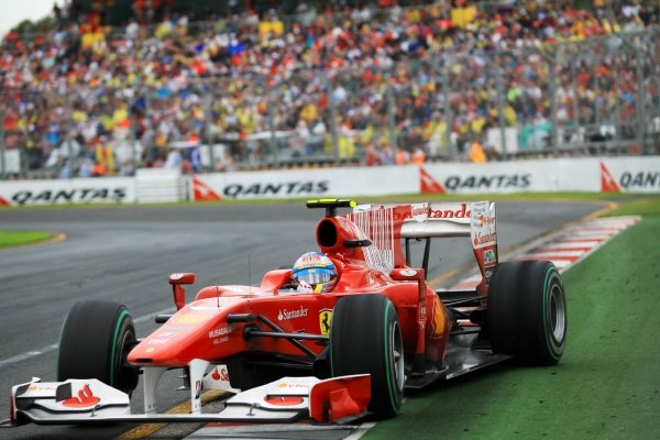 Fernando Alonso (ESP) Ferrari F10  Formula One World Championship, Rd 2, Australian Grand Prix, Race, Albert Park, Melbourne, Australia, Sunday 28 March 2010.  BEST IMAGE