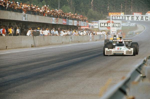 Osterreichring, Austria. 19 August 1973.Rolf Stommelen (Brabham BT42 Ford), retired, action.World Copyright: LAT PhotographicRef: 35mm Image