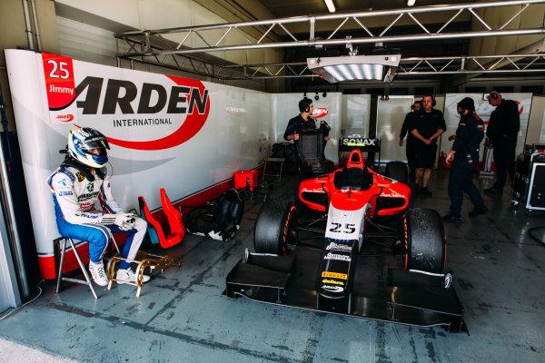2016 GP2 Series Testing. Jerez, Spain. Wednesday 30 March 2016 Jimmy Eriksson (SWE) Arden International  World Copyright: Malcolm Griffiths/LAT Photographic. ref: Digital Image _G7C1128