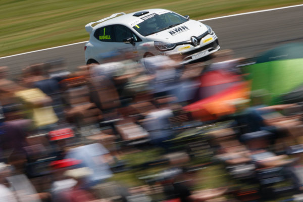 2016 Renault Clio Cup.  Oulton Park, Cheshire. 4th-5th June 2016, Mike Bushell (GBR) Team Pyro Renault Clio Cup  World copyright. Jakob Ebrey/LAT Photographic