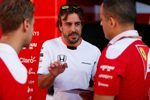 Hungaroring, Budapest, Hungary. Friday 22 July 2016. Fernando Alonso, McLaren. World Copyright: Glenn Dunbar/LAT Photographic ref: Digital Image _W2Q6580