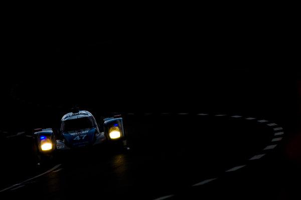 2016 Le Mans 24 Hours. Circuit de la Sarthe, Le Mans, France. Thursday 16 June 2016. KCMG / Oreca 05-Nissan - Tsugio Matsuda (JPN), Matthew Howson (GBR), Richard Bradley (GBR).  World Copyright: Zak Mauger/LAT Photographic ref: Digital Image _79P5774