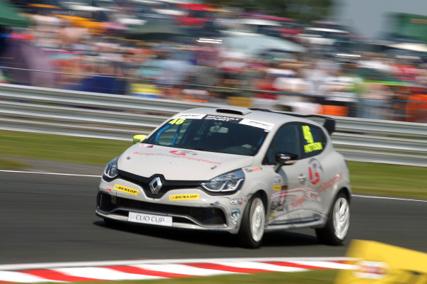 2016 Renault Clio Cup.  Oulton Park, Cheshire. 4th-5th June 2016, Lee Pattison (GBR) Team Cooksport Renault Clio CUp  World copyright. Jakob Ebrey/LAT Photographic
