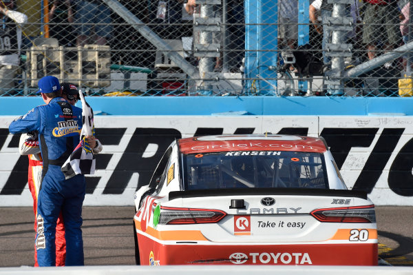Monster Energy NASCAR Cup Series Can-Am 500 Phoenix Raceway, Avondale, AZ USA Sunday 12 November 2017 Matt Kenseth, Joe Gibbs Racing, Circle K Toyota Camry World Copyright: Nigel Kinrade LAT Images