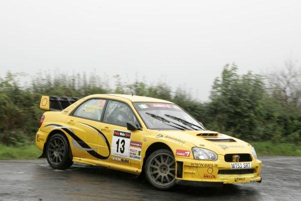 2006 British Rally ChampionshipUlster Rally, Armagh.2nd September 2006Gareth JonesWorld Copyright - Ebrey/LAT Photographic