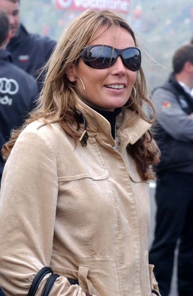 2006 DTM Championship.Round 7, Circuit Park Zandvoort. 1st - 3rd September 2006.Madelon Doornbos, sister of Robert Doornbos (NED), Red Bull Racing F1 driver watching the action on the big screens.World Copyright: Pieters/xpb cc/LATref: Digital Image Only