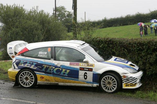 2006 British Rally ChampionshipUlster Rally, Armagh.2nd September 2006Ray BreenWorld Copyright - Ebrey/LAT Photographic
