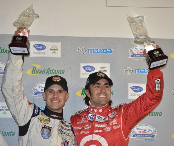 17-20 October, 2012, Braselton, Georgia USA.#055 Level 5 Motorsport's Marino and Dario franchitti.(c)2012 Dan R. Boyd, LAT Photo USA