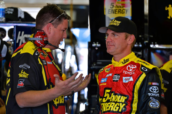November 2-4, 2012 Fort Worth, Texas USA Brian Pattie and Clint Bowyer.(c) 2012, LAT South LAT Photo USA .