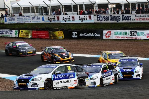 2017 British Touring Car Championship, Knockhill, Scotland. 12th-13th August 2017, Ashley Sutton (GBR) Team BMR Subaru Levorg World copyright. JEP/LAT Images