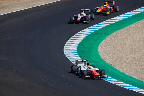 2017 FIA Formula 2 Round 10. Circuito de Jerez, Jerez, Spain. Sunday 8 October 2017. Sergio Sette Camara (BRA, MP Motorsport).  Photo: Zak Mauger/FIA Formula 2. ref: Digital Image _56I7647