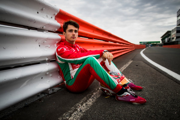 2017 FIA Formula 2 Round 6. Silverstone, Northamptonshire, UK. Thursday 13 July 2017. Charles Leclerc (MCO, PREMA Racing).  Photo: Zak Mauger/FIA Formula 2. ref: Digital Image _56I6349