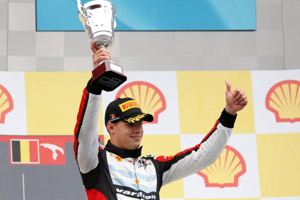 2013 GP3 Series. Round 6.  Spa - Francorchamps, Spa, Belgium. 25th August. Sunday Race. Facu Regalia (ARG, ART Grand Prix). World Copyright: Alastair Staley/GP3 Media Service. ref: Digital Image _R6T8303.jpg