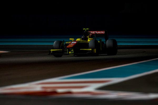 2016 GP2 Series Test 3 Yas Marina Circuit, Abu Dhabi, United Arab Emirates. Friday 2 December 2016. Daniel Juncadella (ESP, Pertamina Campos Racing)  Photo: Zak Mauger/GP2 Series Media Service. ref: Digital Image _L0U4817