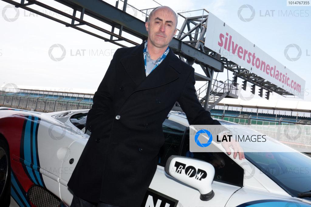 2017 Silverstone Classic Media Day. Silverstone, Northamptonshire. 23rd May 2017. David Brabham. World Copyright: JEP/LAT Images.